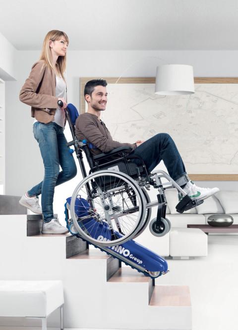 Treppenraupe LG 2004 für Rollstühle