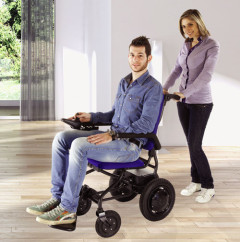 Fold & Go - elektrischer Rollstuhl, faltbar